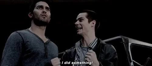 Watch stiles stilinski GIF on Gfycat. Discover more 2x08, Tyler Hoechlin, derek hale, stiles stilinski, stilinskiedit, teen wolf, twedit GIFs on Gfycat
