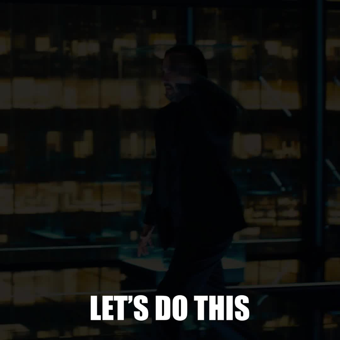 do it, john wick, john wick 3, john wick chapter 3, john wick chapter 3 parabellum, just do it, keanu reeves, lets do this, lets go, John Wick Keanu Reeves Let's Do This GIFs