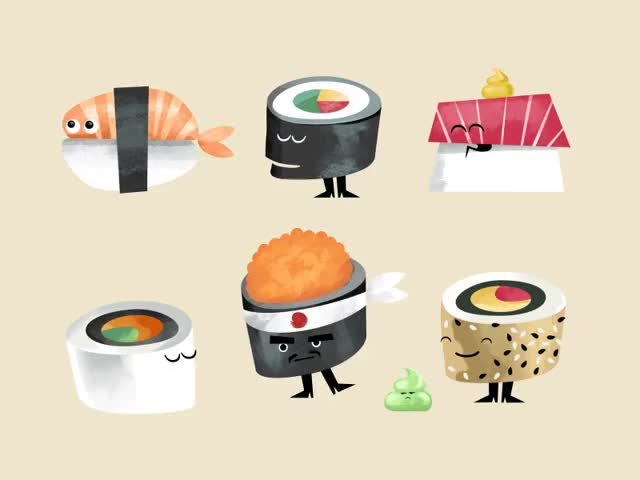 Watch this sushi GIF on Gfycat. Discover more food, sushi GIFs on Gfycat