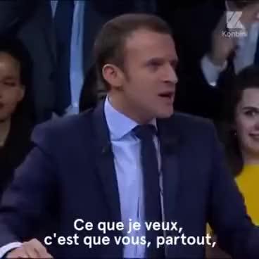 Watch and share Emmanuel Macron GIFs and Politics GIFs on Gfycat