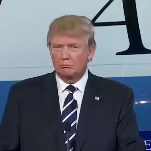Watch this donald trump GIF by revistaxy on Gfycat. Discover more CNN (Production Company), Debate (Quotation Subject), Donald Trump, oldschoolcool GIFs on Gfycat