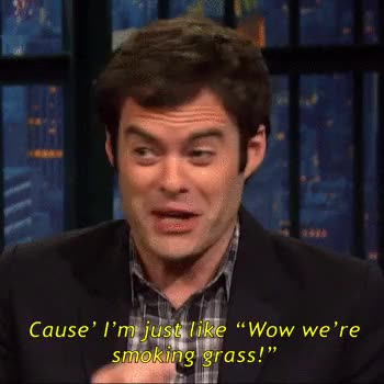 Watch this trending GIF on Gfycat. Discover more a lot of the time, amy schumer, bill hader, comedy, funny, gif, gif set, judd apatow, saturday night live, seth meyers, snl, trainwreck, vanessa bayer GIFs on Gfycat