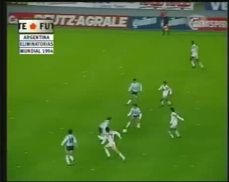 Watch and share Argentina 2 - 1 Peru - Eliminatorias Mundial USA 1994 GIFs on Gfycat