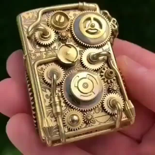 Watch Steampunk lighter (@kevinmax4) GIF by tothetenthpower (@tothetenthpower) on Gfycat. Discover more related GIFs on Gfycat
