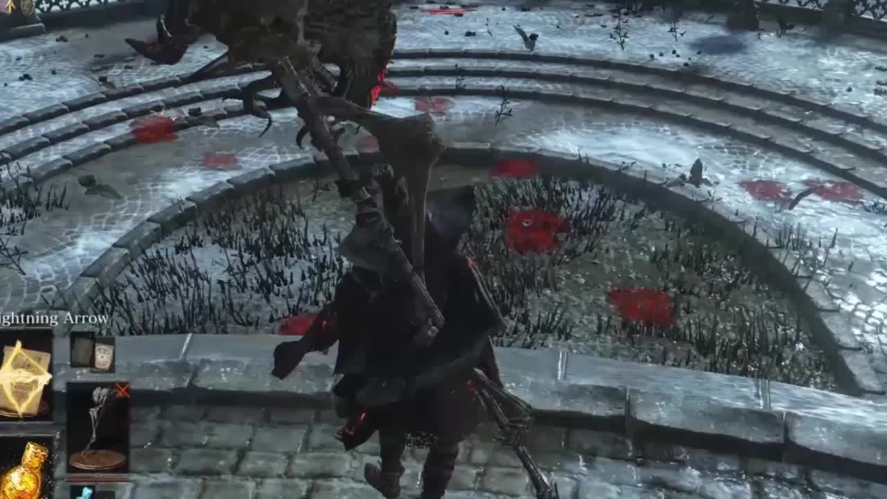 darksouls3, Lightning Arrow is the best miracle in the game GIFs