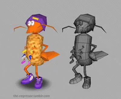 Watch crusty GIF on Gfycat. Discover more 3D Modelling, 3D animation, Splatoon, crusty sean, fan art, inkling, low poly, nintendo, nintendo 64, octoling, splatoon 64, squid kid GIFs on Gfycat