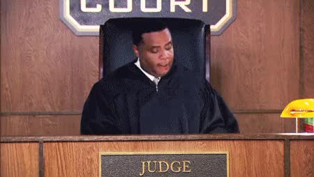 Watch and share Crazy Judge GIFs on Gfycat