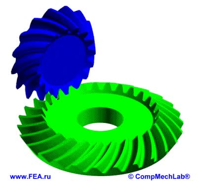 Watch CompMechLab Bevel gear KISSsoft GIF on Gfycat. Discover more related GIFs on Gfycat