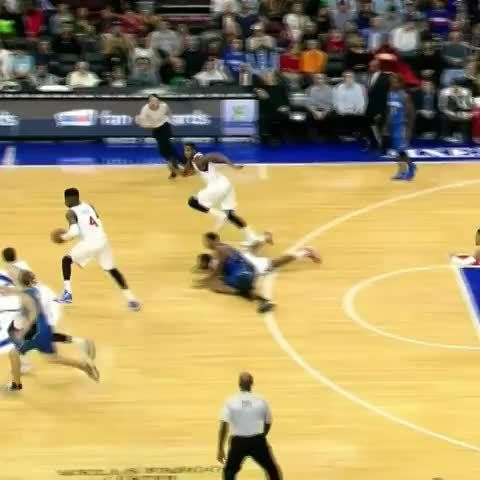bostonceltics, Nerlens Noel with the behind the back assist in transition! (reddit) GIFs