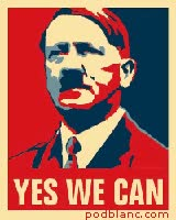 Watch and share Avatar Hitler Yes We Can PODBLANC_COM GIFs on Gfycat