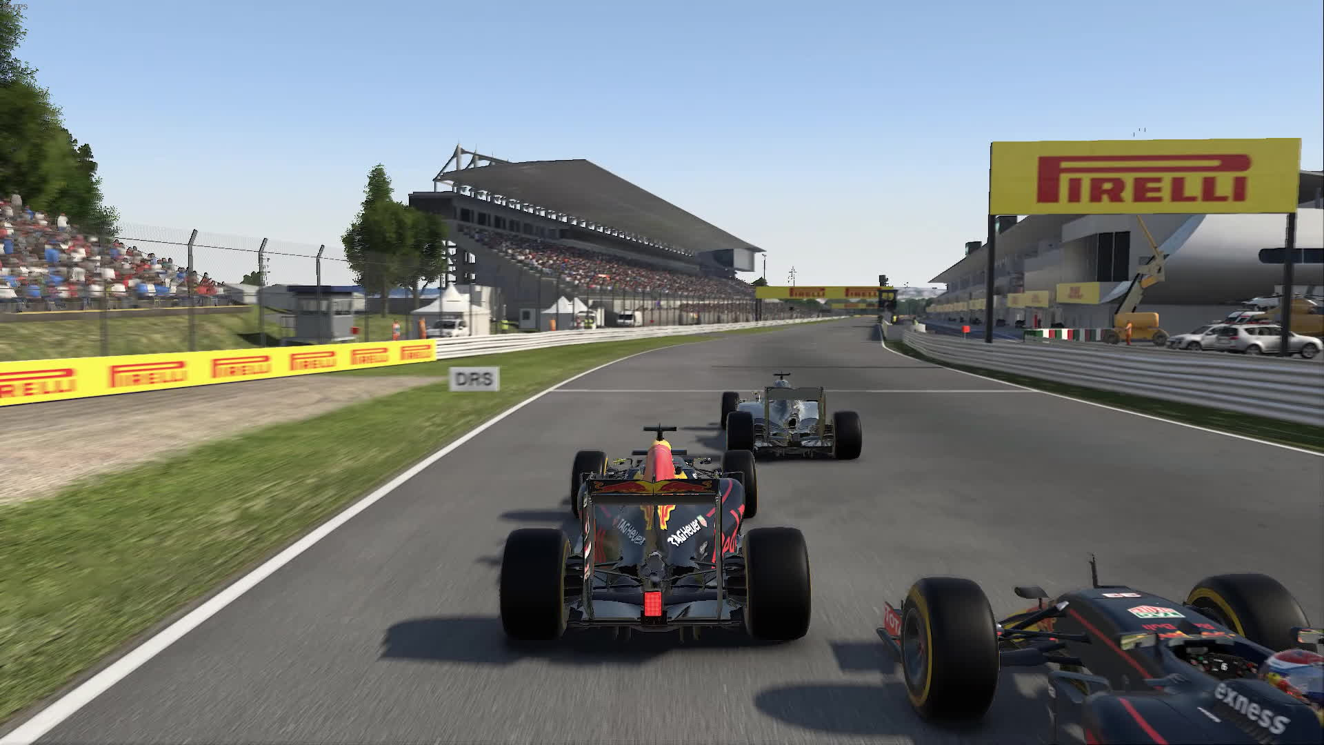 F1Game, f1 2016, japan, F1 2016 - Japan Turn 1 - 4 man wide GIFs