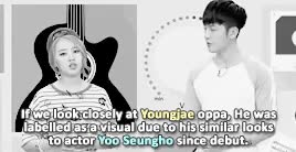 Watch and share Yoo Seungho GIFs and Youngjae GIFs on Gfycat