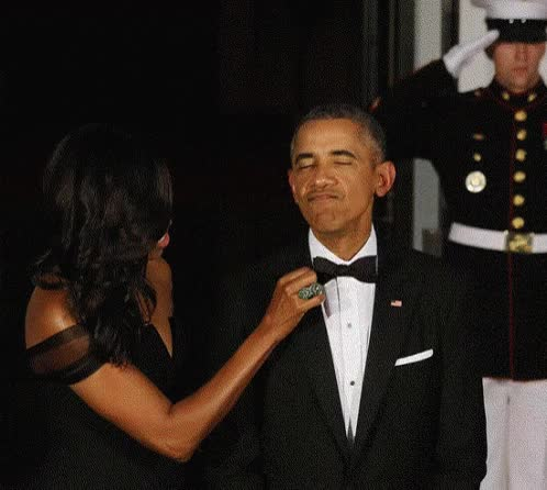 Watch and share Barack Obama GIFs and Tuxedo GIFs on Gfycat
