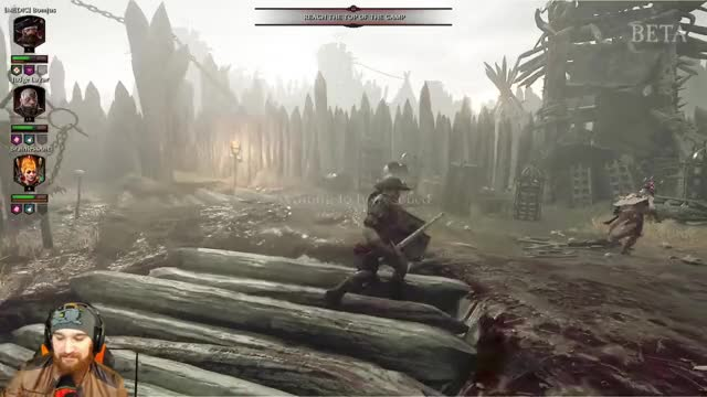 Watch and share Tangent Playing Warhammer: Vermintide 2 - Twitch Clips GIFs by moo359 on Gfycat