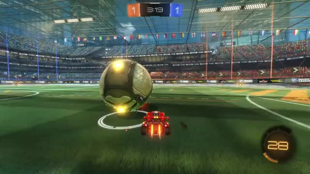 Watch and share Rocket League GIFs and Ceiling Shot GIFs on Gfycat
