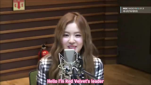 ENG SUB] 151001 Sunny's FM Date with Red Velvet GIF by (@reeprevgu