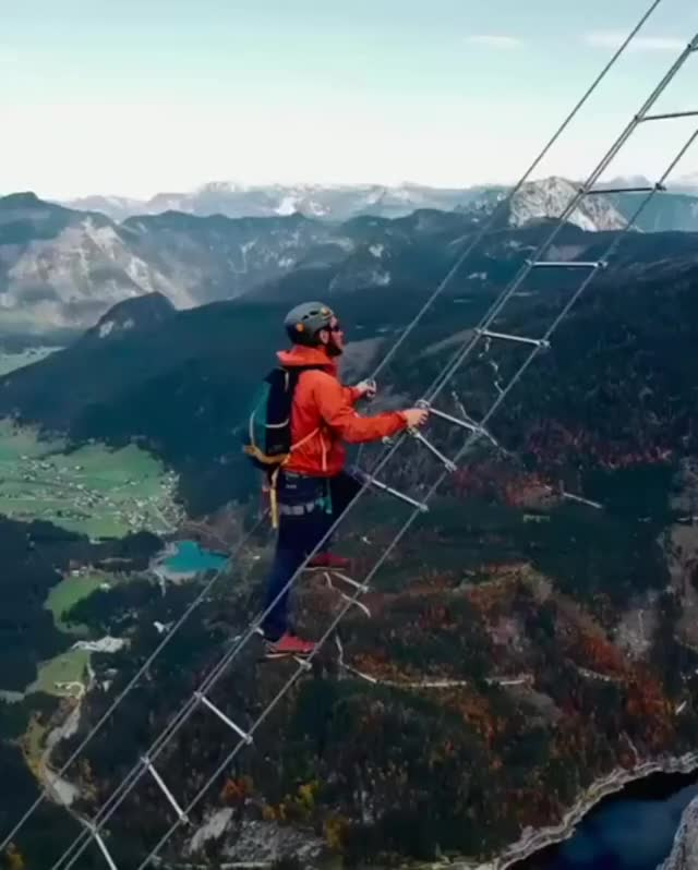 Watch and share The 40-meter-long Stairway To Heaven ,Gosau In Austria GIFs by MyNameGifOreilly on Gfycat