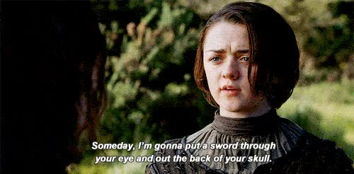 Watch whateva whateva i do what i want GIF on Gfycat. Discover more maisie williams GIFs on Gfycat
