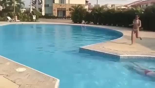 ManMadeDuckie, HMC while I jump over this pool GIFs