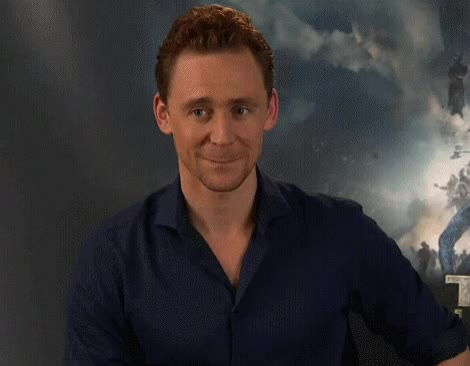 Watch Originally  the-reactiongifs GIF on Gfycat. Discover more tom hiddleston GIFs on Gfycat