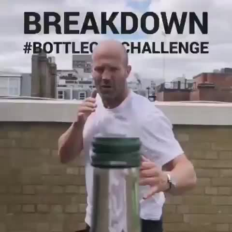 Watch and share Bottle Cap Challenge GIFs by kcgg123 on Gfycat