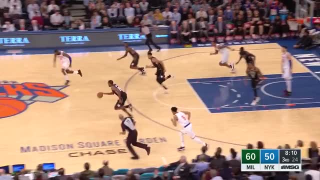 Watch and share Milwaukee Bucks GIFs and New York Knicks GIFs on Gfycat