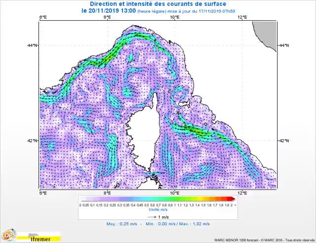 Watch and share Courants F2 Courant Map Ligure 0m 20191120130000 Fr GIFs on Gfycat