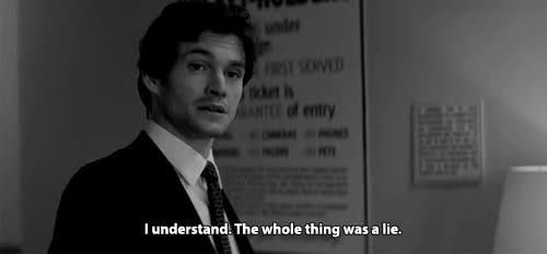 Watch and share Hugh Dancy GIFs and Lying GIFs by Reactions on Gfycat