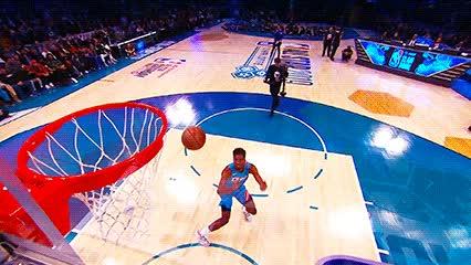 021619, basketball, dunk, slam dunk, Hamidou Diallo — 2019 Slam Dunk Contest GIFs