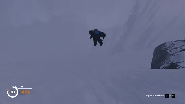 Watch and share STEEP - Flying Low Into The Unknown GIFs by stuuuu on Gfycat