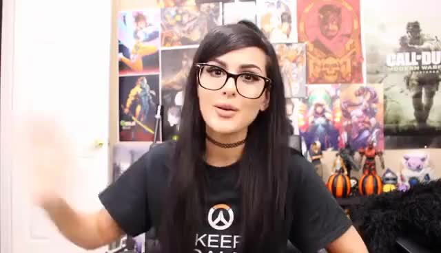Watch this sssniperwolf GIF on Gfycat. Discover more related GIFs on Gfycat