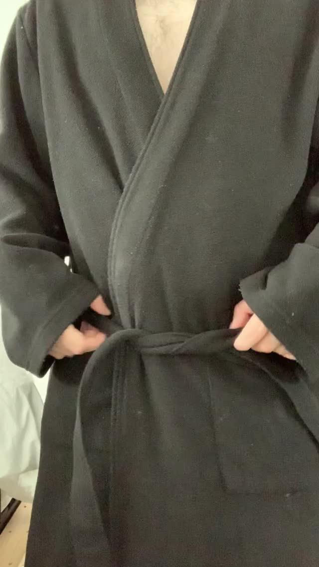 oops my bathrobe keeps falling open