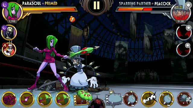 Watch and share Parasoul Combo Contest GIFs by stapan on Gfycat