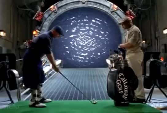 Watch Golf GIF on Gfycat. Discover more Golf, Sci-fi, Stargate, Stargate SG-1 GIFs on Gfycat