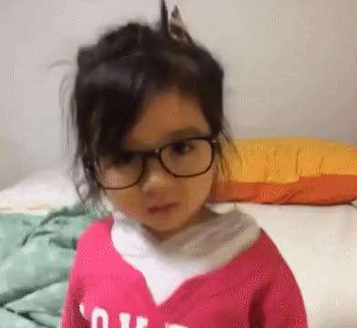 little girl sneezing GIFs