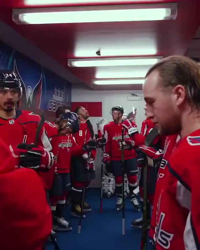 Watch and share Capitals Pregame Ritual - Part 1 GIFs on Gfycat