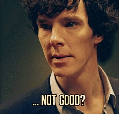 Benedict Cumberbatch, oops, wemessedup, Not Good... GIFs