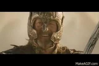 Rohan army vs Haradrim army GIFs