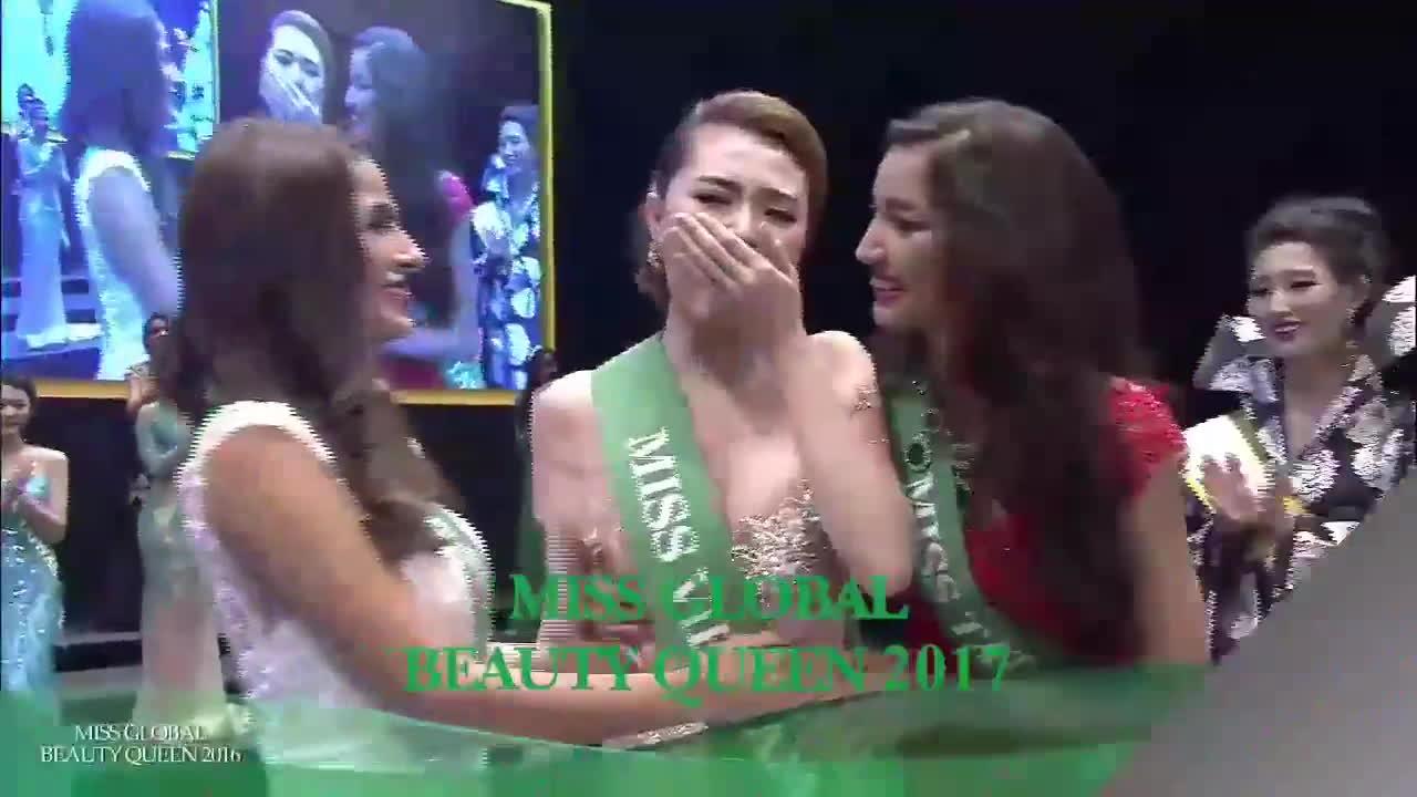 Ngọc Duyên xuất hiện ấn tượng trong clip quảng bá Miss Global Beauty Queen 2017