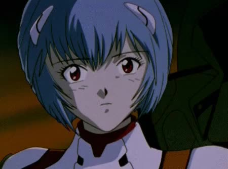Watch and share Evangelion Reismile GIFs on Gfycat
