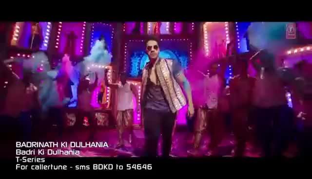 "Watch and share Badri Ki Dulhania (Title Track) Varun, Alia, Tanishk, Neha, Monali, Ikka | ""Badrinath Ki Dulhania"" GIFs on Gfycat"