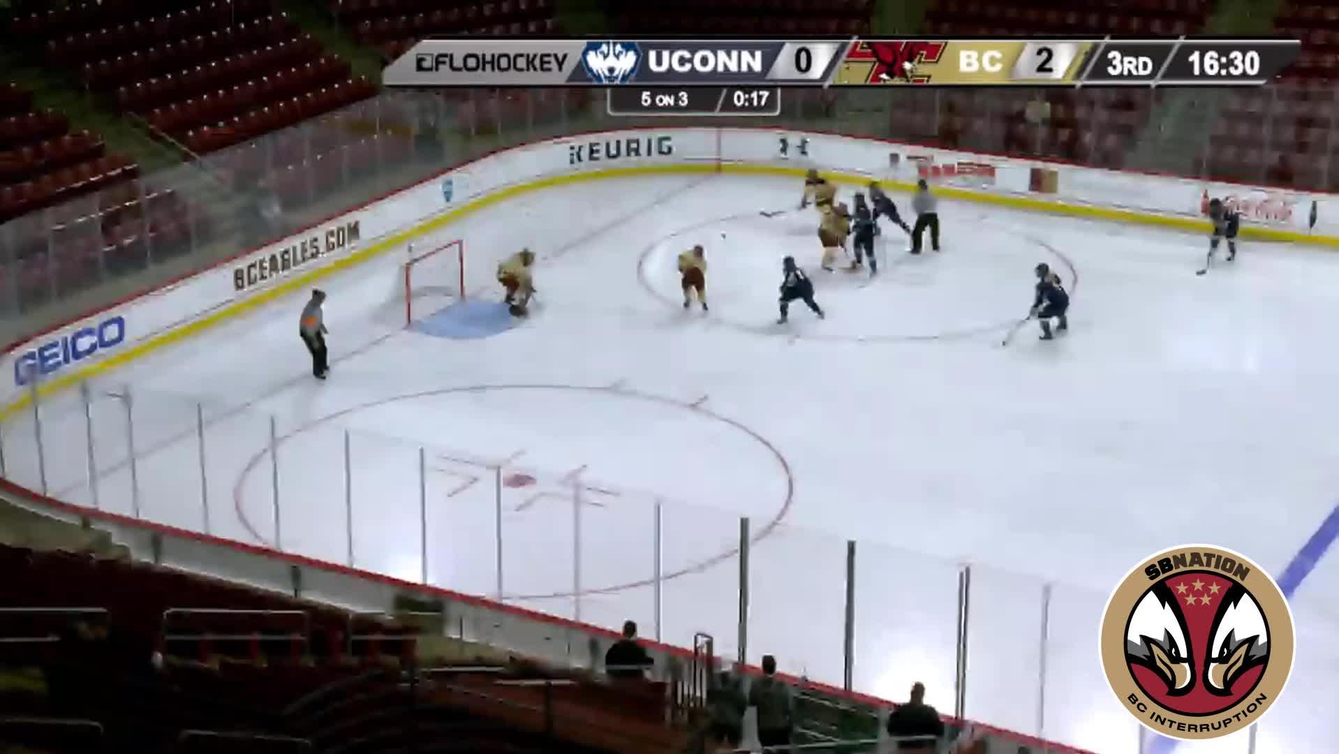 hockey, 3 UConn (W) 3/1/19 GIFs
