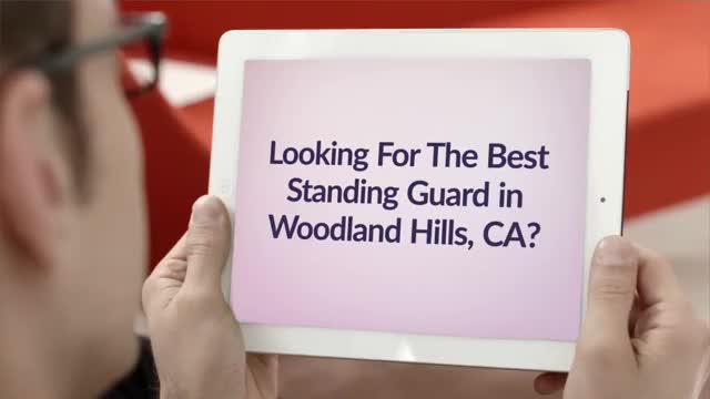 Watch and share Assertive Security Services Consulting Group : Standing Guard In Woodland Hills GIFs by Assertive Security Services Co on Gfycat