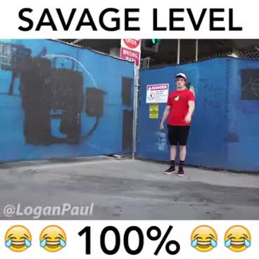 Watch and share Logan Paul Savage Complication GIFs on Gfycat