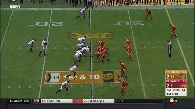 Watch and share Iowa State Cyclones GIFs and Ncaa Football GIFs by nolesfan4440 on Gfycat