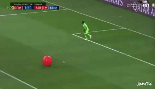 Watch and share Alisson Becker Vs Balloon GIFs on Gfycat