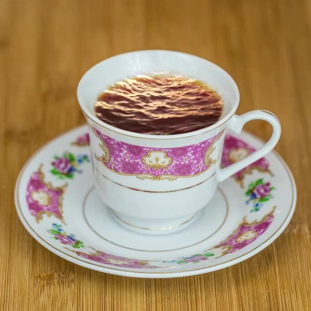 Ocean in a Tea Cup