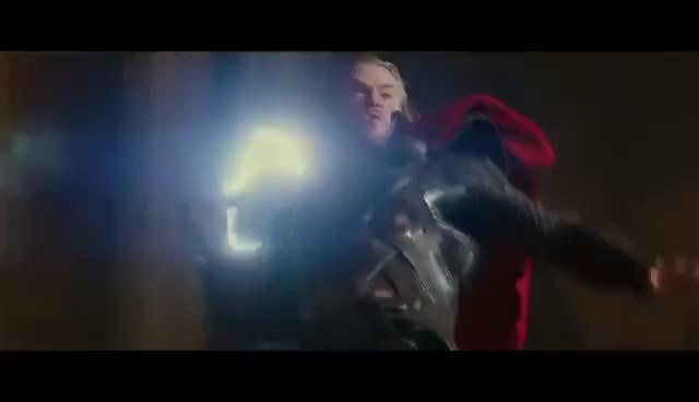 Watch and share Thor - Fight Moves Compilation(AoU Included) HD GIFs on Gfycat