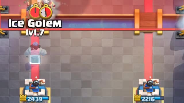 Watch defend bridge spam GIF on Gfycat. Discover more 20, clash royale, how to use, king, opening, player, professional, supercell, tutorial, with GIFs on Gfycat