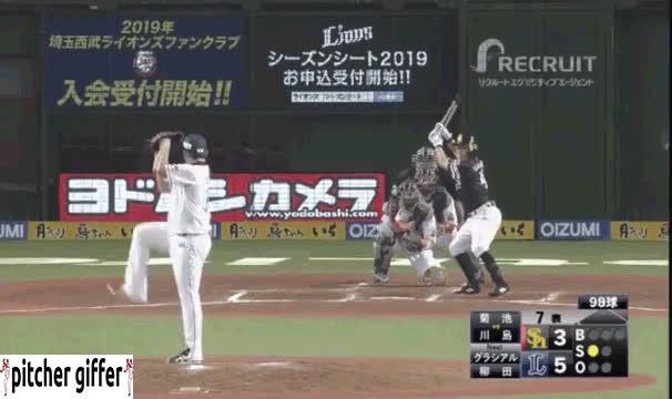 MLB, Mariners, NPB, Yuesi Kikuchi, baseball, sports, YUSEI KIKUCHI FB/CB overlay GIFs